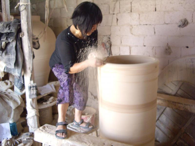 Studio snap shot, Jingdezhen, China 2009